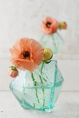 "Geo Bud Vases 4-3/4"""