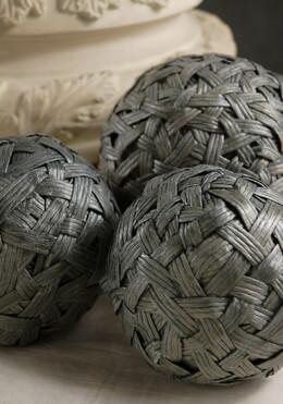 Venetian Paper Rope Balls (3 balls)