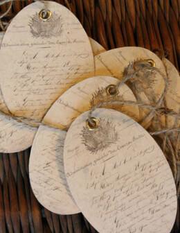 Vintage Epherma Gift Tags (24 tags)