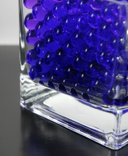 Violet Blue Water Pearls (water holding vase gems)