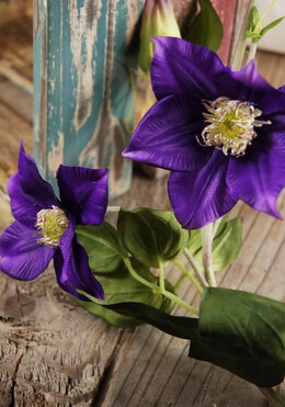 Clematis Garland Violet 48in