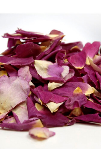 Flower Petals Freeze Dried Purple Violet Je T'aime Rose Petals   (5 cups)
