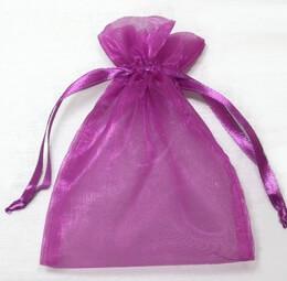 Violet Organza 5 X 6-1/2 Favor Bags