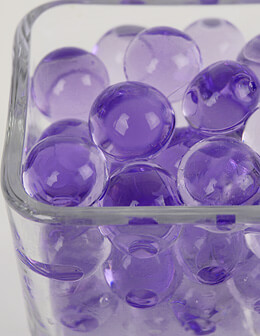 Jumbo Violet Purple Water Pearls 150mL