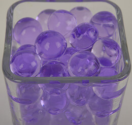 Water Pearls Violet Jumbo (water holding vase gems)