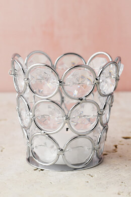 Crystal Votive Holders 3x3