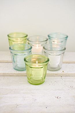 Votive Holder Shine A Light (Set of 6)