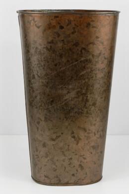 Wall Bucket Copper 12in
