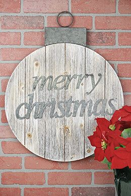 "20"" Merry Christmas Pallett Sign"