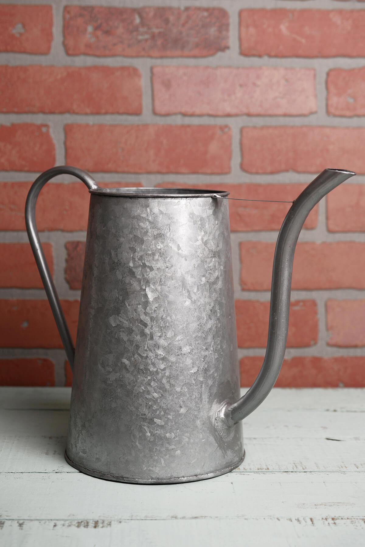 "Camira Watering Can Vase 10"""