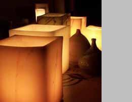 Wax Luminaries (reusable wax luminaria) Candle Holders
