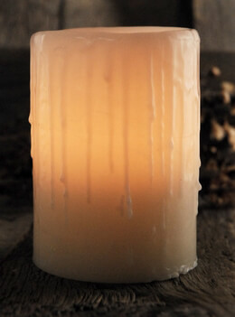 Wax Luminaries (reusable wax luminaria) Candle Holders