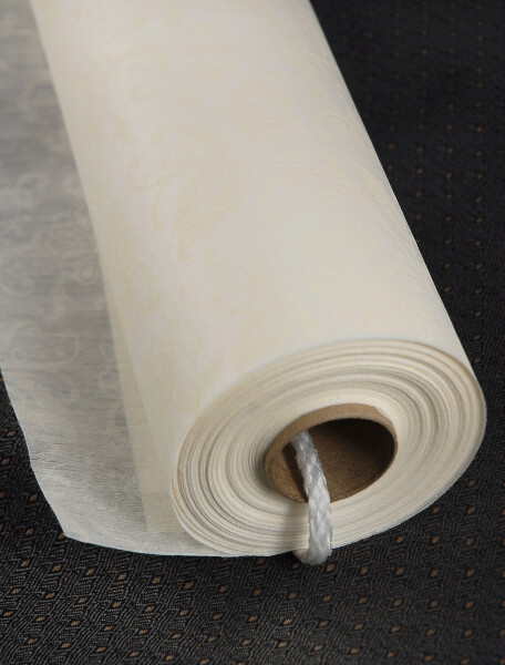 French Lace Aisle Runner Ivory 100ft