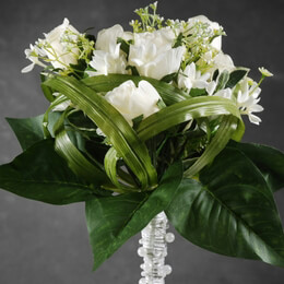Wedding Bouquets Rose & Stephanotis Artificial Flowers