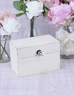Wedding Keepsake Box Cream