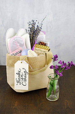 Wedding Welcome Bag 7x4x8.5in