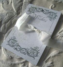 Wedding Wishing Tree Tags Black Ink