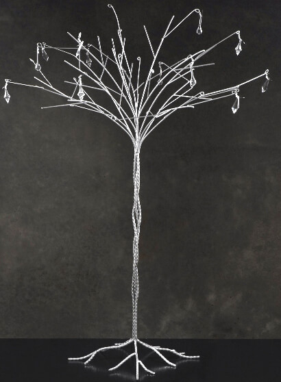 Wedding Tree Silver 44in