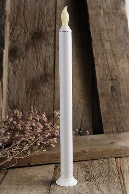 "Battery Operated 11"" Taper Candle  (touch function)"