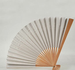 Paper Fans White (Set of 10)