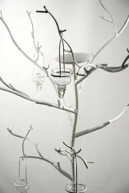 White Candle Tree 71in