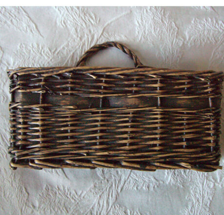 Wall Mounted Mail Basket