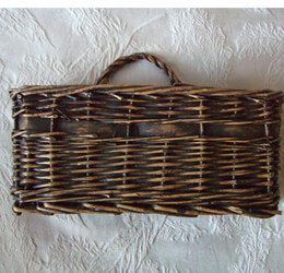 Wall Mounted Mail Basket