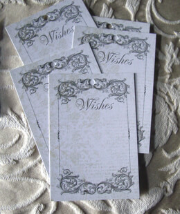 Wishing Tree Tags Black Ink (24 tags)