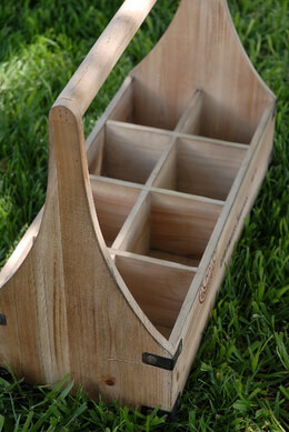 Wood Caddy