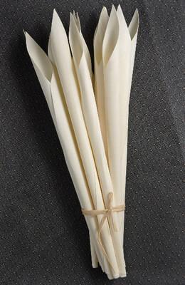 Wood Calla Cones (12 cones/ pkg)