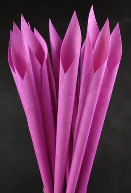 Wood Cones Pink (Pack of 12)