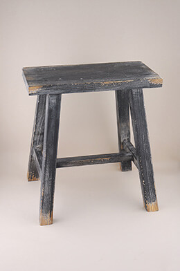 Wood Foot Stool 15in