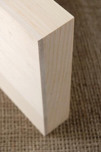"Wood Frame Basswood 8x16 x 1.75"" Canvas"