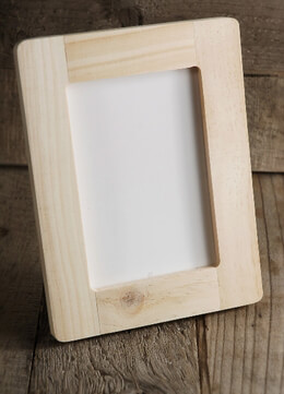 wood frame 4in x 6in