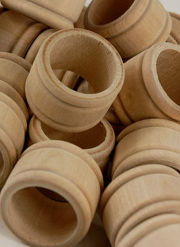 Wood Napkin Rings | Pack of 25