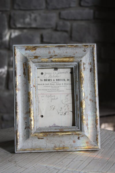 Gilded Wood Picture Frame 8x10