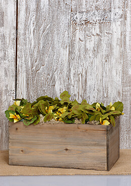 Planter Box Wood 6x7x13.5""