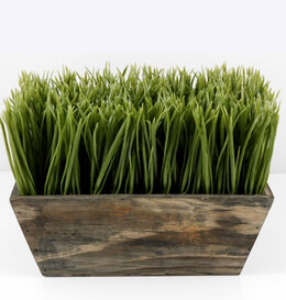 Artificial Grass Planter Box 10in