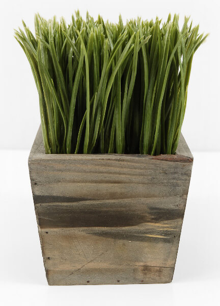 Artificial Grass Planter Box 4.5in