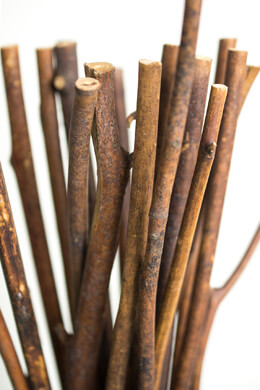 Bundle of Wood Sticks 13in 1.5lbs