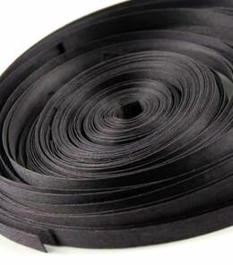 """Wood Strips Black 88.5' 3/8"""" width"""