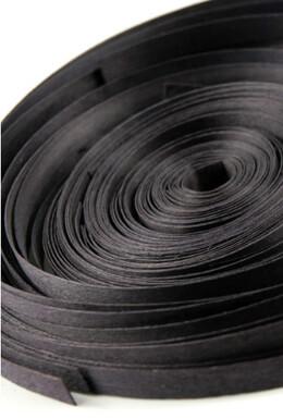 Black Wood Strips 88 FT x 3/8in