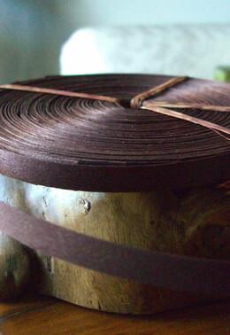Wood Strips Brown 3/8 width 88.5 feet