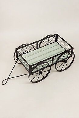 Wood Wagon 10in