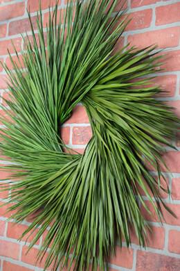 "Preserved Palm Wreath 34"""