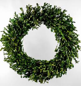 Boxwood Wreath 22in