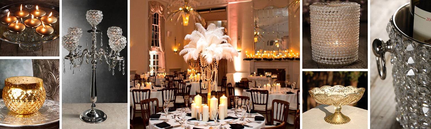 Old Hollywood Wedding Decorations
