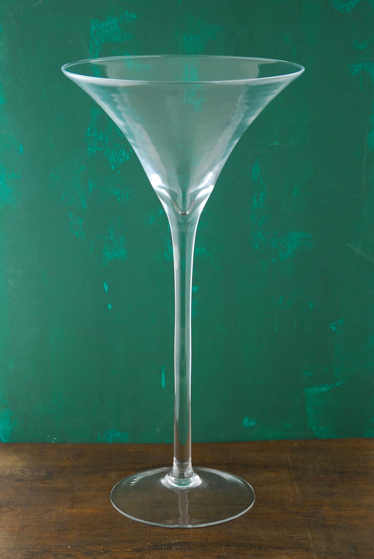 20 Tall Glass Martini Vase