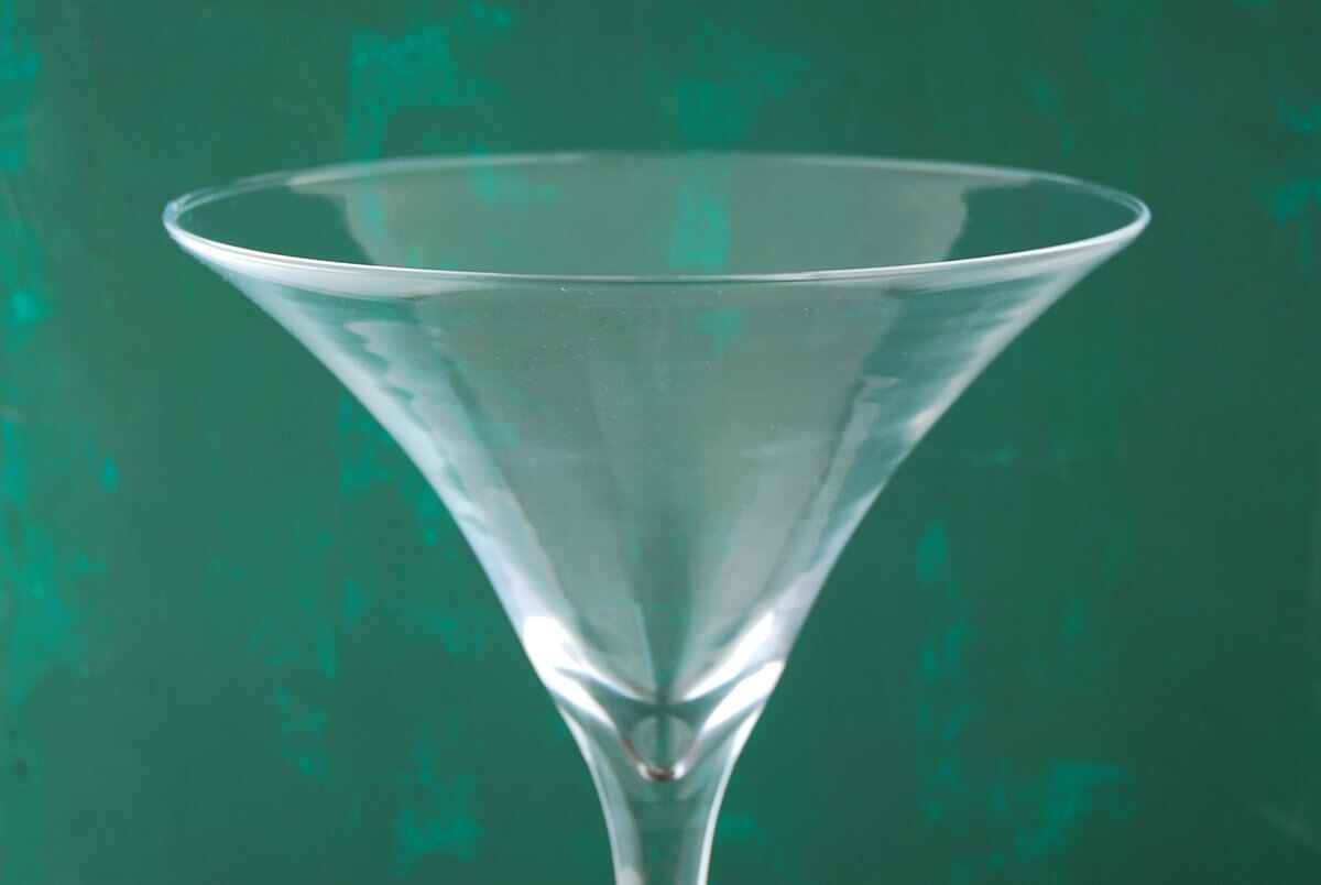 20 Quot Tall Glass Martini Glass Vase