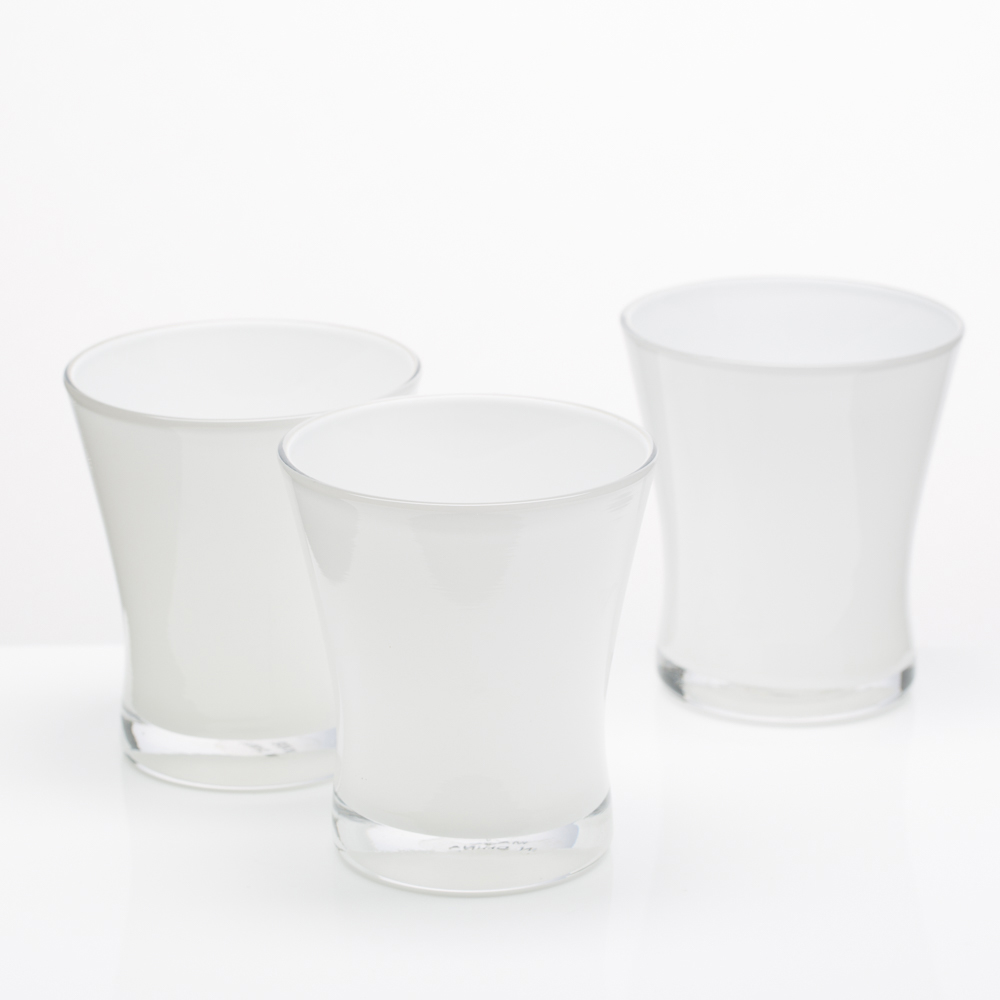 Richland Radiant Candle Holder White Set of 6